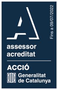 Logo asesor acreditado en vertical